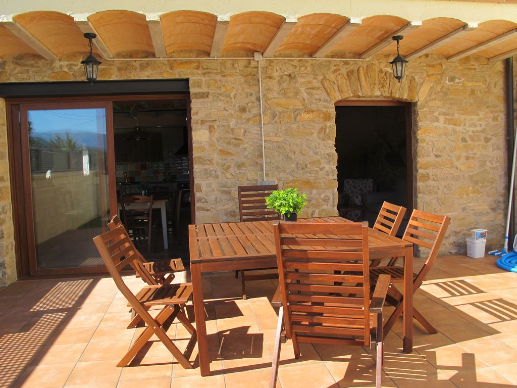 Cal Nenot Self Catering Cottage With Private Pool And Views Of The Montsec Vilamitjana
