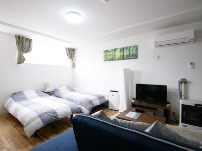 Photo for GT10 SAPPORO 1BR APARTMENT, SUSUKINO, WIFI/PARKING