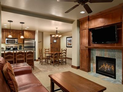 Photo for Luxury Two Bedroom Ski In Ski Out Condo March 9-16, 2019 Sleeps 8