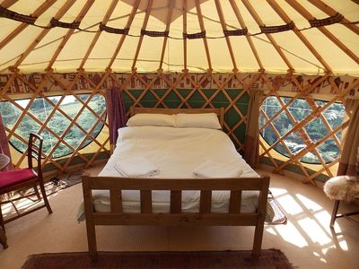 Photo for Holly Yurt - One Bedroom Camping, Sleeps 3