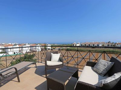 Photo for Stunning Kapparis 3 Bed Villa With Private Pool And Sea Views