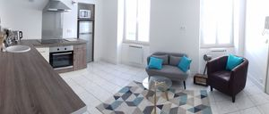 Photo for Beautiful, comfortable apartment for 2 people, ground floor, bike room, center, edge of the Loire