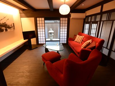 "Photo for Renovated modern traditional house 5mins-walk from station ""Uan/Tsuki"""