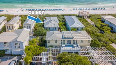 "Photo for In Seaside Proper ""Quincy Cottage"" Gulf Front! Very charming!"