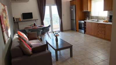 Photo for Corfu Quality Apartment, Tranquility, Panoramic View