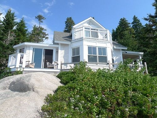 Secluded Stonington Maine Cottage HomeAway Stonington - And architectural cottages on secluded private pond homeaway