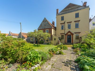Photo for This characterful three-storey Georgian village house dates back to around 1700.