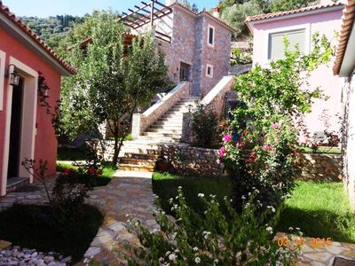 Photo for DIO GUESTHOUSES VILLA PARNONAS 3 B/R WITH PRIVATE GARDEN AND SWIMMINGPOOL
