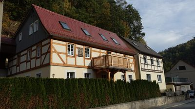Photo for Urgemütliche apartment on the ground floor in Bad Schandau / cribs