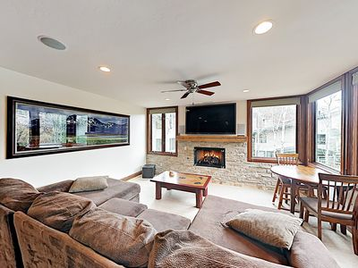 Photo for Mountain Gem Across From Slopes: Heated Pool, Hot Tubs, Grills