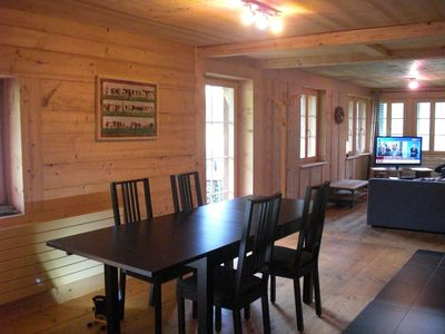 Photo for Apartment on the first floor of an independent chalet