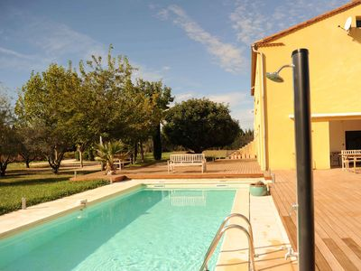 Photo for VILLA WITHOUT POOL WITH SWIMMING POOL area of 15000 square meters quiet