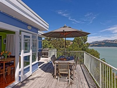 Photo for The Charm of Charteris Bay - Charteris Bay Holiday Home