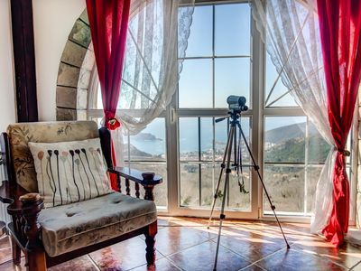Photo for Villa Nera With Pool and Sea View