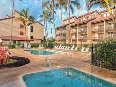 Photo for 2 Bedroom vacation unit at the Kaapa shore of the lush green island of Kauai