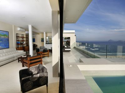 Photo for Rio008-Magnificent 6 bedroom penthouse with terrace, pool and sea view