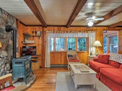 Photo for NEW! Lime Lake Cottage w/ 110 Feet of Waterfront!