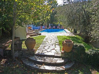 Photo for Villa Plus Detached Cottage, With Private Pool Set In 2 Acres Of Olive Groves