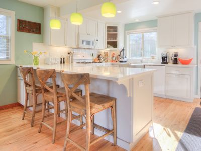 Photo for Great family home that's a quick walk to Harbor Dining and historic waterfront.