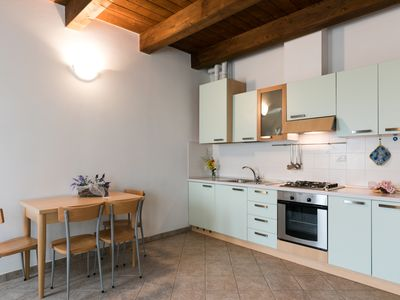 Photo for Large two-room apartment with 5 beds and mountain view