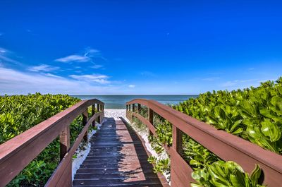 You'll be just a short walk from the beach!