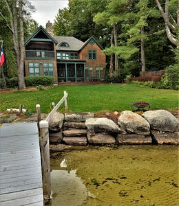 Photo for RIN112Wfa - Waterfront Luxury on Lake Winnipesaukee