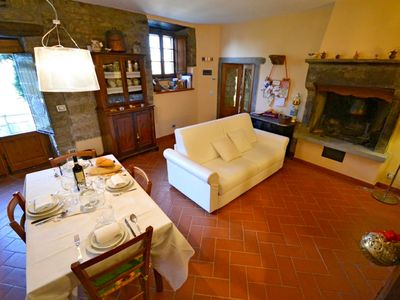 Photo for Lovely apartment with private pool, WIFI, TV, washing machine, pets allowed, panoramic view, parking