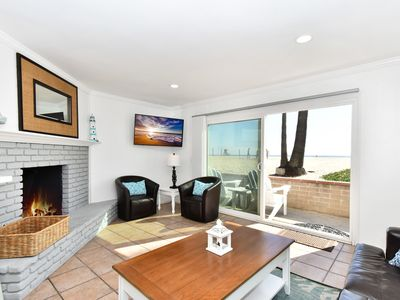 Photo for Oceanfront Patio on the Boardwalk - New Remodel