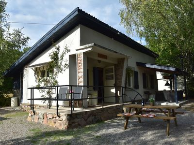 Photo for Holiday home with covered terrace at the edge of the Parc Regional du Morvan