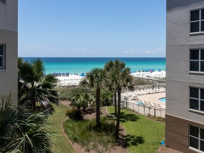 Photo for 3rd Floor Beachy Condo At Waterscape! 490 Feet Of Private Beach!