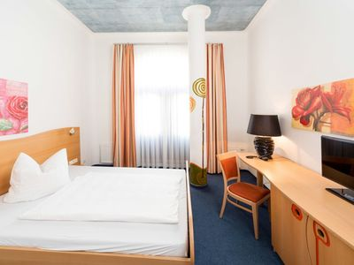 Photo for Single room Basic - artHOTEL Magdeburg GmbH
