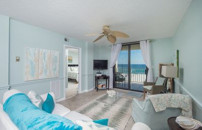 Photo for 402 Sunswept 2/2 Orange Beach  *PERFECT VIEW* DIRECTLY ON THE BEACH*