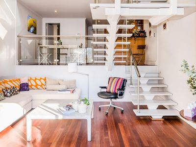 Photo for Oversized loft style apartment in the heart of vibrant Surry Hills
