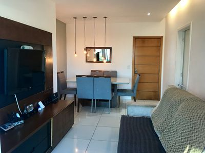 Photo for Barra da Tijuca - beautiful apartment all furnished and equipped