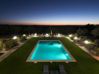Photo for Finca Can Corem - LUXURY - Big bedrooms - Big pool - Country house for 12 people in Manacor