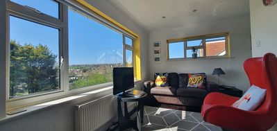 Photo for 3 bedroom house, stunning views and free parking