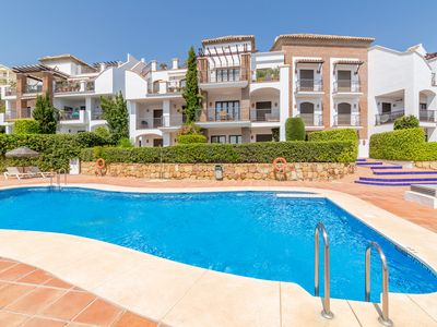 Photo for Luxurious & Spacious 3 bed Apartment in Los Arqueros Golf & Country Club