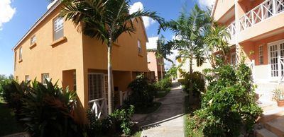 Photo for Ajoupa12, Fitts Village, St James. 2 bed villa with pool set in tropical gardens