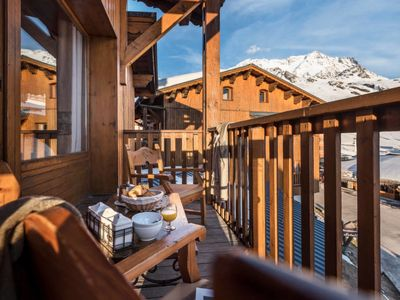 Photo for Apartment Les Montagnettes Lombarde (VTH302) in Val Thorens - 6 persons, 2 bedrooms