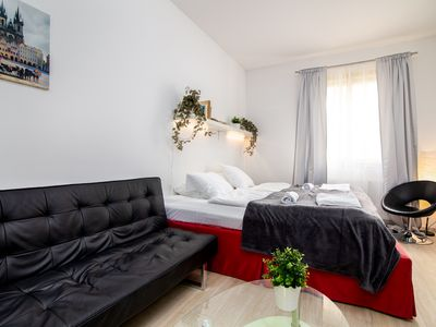 Photo for Charles Bridge Charmer Mostecka - Aparthotel for 3 people in Praha