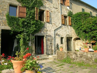 Photo for Beautiful Stone Property w/ Pool & Superb Views in village with Bar/Restaurant