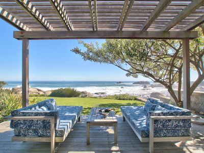 Photo for Beach house on Atlantic Ocean to enjoy crashing waves in luxurious comfort.