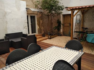 Photo for Village house in the heart of Marseillan City (60 M2 + patio of 40 M2)