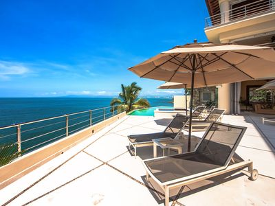 Photo for LUXURY OCEANFRONT PRIVATE VILLA