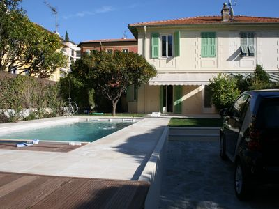 Photo for Pretty villa in the heart of Beaulieu Sur Mer with private pool