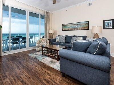 Photo for Waterscape B601 Oceanfront!  3 BR plus bunkroom Penthouse with Top 3 view!  Must See!