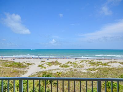 Photo for Amazing views from this 3 bedroom direct ocean front 44' wrap-around balcony