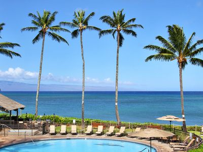 Photo for Kahana Village #15 Ocean Front Deluxe Second Level