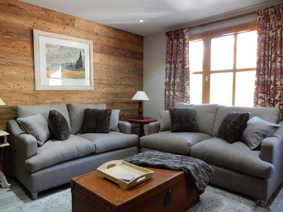 Photo for LUXURY 3 BEDROOM APARTMENT IN LES ARCS 1950 SKI IN/SKI OUT SLEEPS 6/8