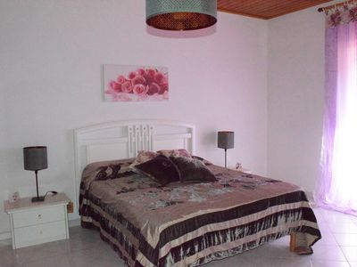 Photo for THE ROOM OF THE SMALL ROSES OASIS OF SPACIOUS QUIET WITH PRIVATE BALCONY